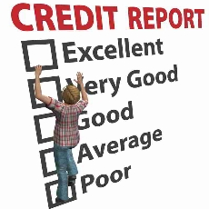 credit report in Chapter 13 bankruptcy